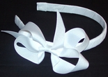 Girl's Ribbon Headbands with Bows