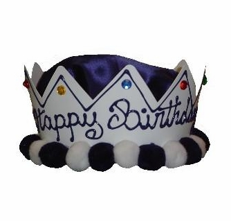 Happy Birthday Hat Crown For Boys Hand Painted