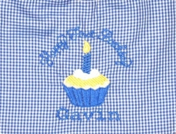 1st Birthday Bib, Happy Birthday Bib for Boys And Girls.