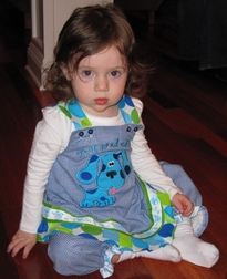 Blues Clues Birthday Custom Dress or Outfit for Girls & Birthday Hat.