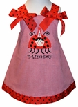 Custom Birthday Ladybug, 1st Birthday Dress Or Outfit.