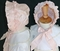 Le' Za Me Smocked Heirloom Pink Silk Dress with Option Silk Bonnet