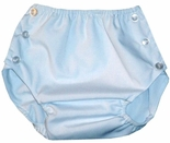 Baby Diaper Cover in Blue for Boys by Lullaby Set.
