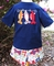 Boy's Appliqued Fish Shirt And Madras Shorts Outfit