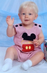 Mickey Mouse Personalized Split Body Suit John John or Outfit