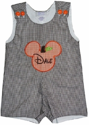 Mickey Mouse Pumpkin Thanksgiving Custom Outfit.