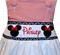 Monogrammed Minnie Mouse Dress Or Top and Trousers Outfit