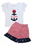 Minnie Mouse Disney Cruise Anchor Monogrammed Shirt or Outfit