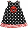 Minnie Mouse Monogrammed Dots Scallop Custom Dress Or Outfit