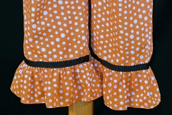 Minnie Mouse Swirly Pumpkin Outfit