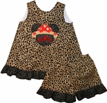 Minnie Mouse Safari Animal Kingdom Cheetah Dress or Shorts Outfit