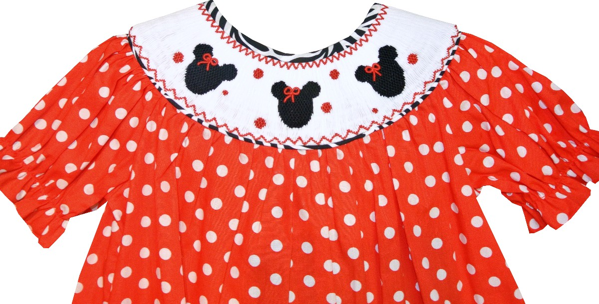 Minnie Mouse Smocked Dress