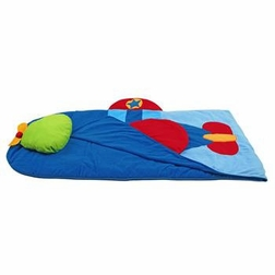 Monogrammable Airplane Nap Mat or Sleeping Bag for Boys