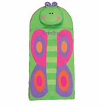Monogrammable Butterfly Nap Mat for Preschool Kindergarten or Sleeping Bag by Stephen Joseph