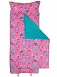 Stephen Joseph All Over Princess and Unicorn Nap Mat for Preschool Day Care Kindergarten or Sleep Overs