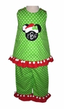 Custom Minnie Mouse Christmas Santa Dress Or Outfit.
