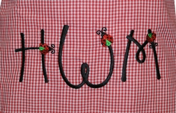 Custom Girl's Ladybug Mommy and Baby Dress or Outfit