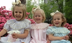 Girl's Heirloom Dress, Pleated Collar Dress for Portraits, Special Occasions