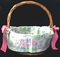Personalized EASTER BASKET Cover/Liner