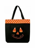Monogrammed Personalized Halloween Trick or Treat Goody Bag