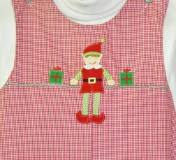 Petit Ami Boy's Elf on the Shelf Longall