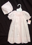 Petit Ami Girl's Scalloped Hem Smocked Day Gown.