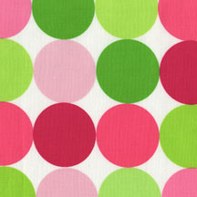 Pink and Lime Sorbet<br>         Disco Dots
