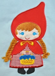 Reversible Little Red Riding Hood Dress by Mulberry Street
