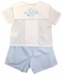 Rosalina Boy's Blouse and Shorts Outfit
