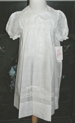 Rosalina Heirloom White Dress With White Embroidery