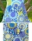 Custom Girl's Royal Blue Lime Flowers & Chevron Dress or Outfit.