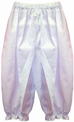 Girl's White Pantaloons, Long Bloomers By Royal Child.