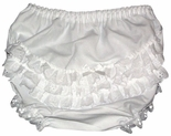 Girl's Ruffle Bloomers and Diaper Covers.