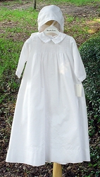 Boy's Christening Gown Embroidered by Sarah Louise.