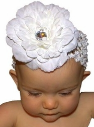Baby Crocheted Headband for Girls