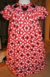 Smocked Minnie Mouse Dress Perfect for Disney and Minnie Parties