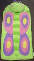 Toddler's And Girl's Butterfly Nap Mat By Stephen Joseph.