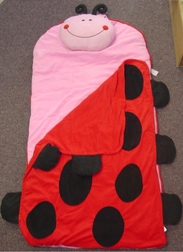 Toddler's And Girl's Ladybug Nap Mat By Stephen Joseph.