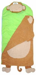 Personalized Monkey Pre-school Toddler's Nap Mat
