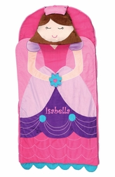 Monogrammable Queen Princess Nap Mat for Preschool Kindergarten or Sleep Overs by Stephen Joseph