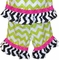 Itsy Bitsy Spider Dress or Outfit in Lime Chevron