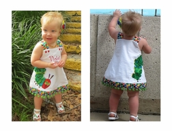 Girl's Hungry Caterpillar Custom Eric Carle Dress or Outfit.