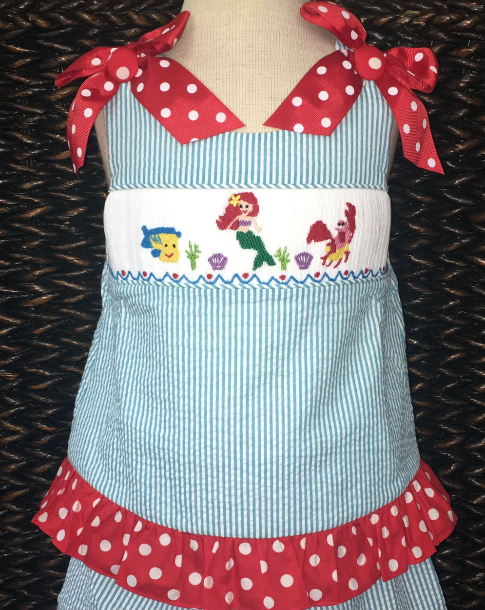 4736ea87bf three-sisters-girl -s-smocked-shorts-outfit-with-flounder-ariel-and-sebastion-the-crab-21.jpg