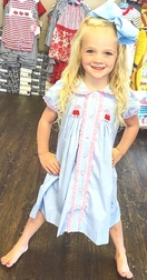 Three Sisters Smocked Peppa Pig Dress