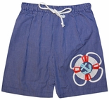 Zuccini Appliqued Cruise John John for Boys