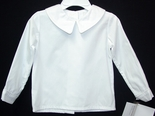 Boy's White Blouse with Long Sleeves by Zuccini