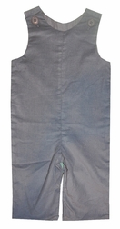 Zuccini Monogrammable Grey Corduroy Longall for Boys