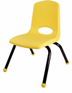 "12"" School Stack Chairs - 6 Pack"