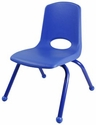 "12"" School Chairs with Powder Coated Legs (6-Pack)"
