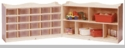 20-Tray Cubby with 5 Section Storage